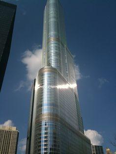 Trump International Hotel & Tower Chicago in Chicago, IL Trump International Hotel, Chicago City, Burj Khalifa, Niagara Falls, Great Places, Lighthouse, Skyscraper, Condo, Trips