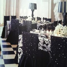 These chair covers!!!  www.tablescapesbydesign.com https://www.facebook.com/pages/Tablescapes-By-Design/129811416695