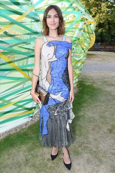 507533d08c6 Alexa Chung attends The Serpentine Gallery Summer Party on July 2