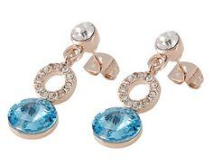Swarovski Crystal EARRINGS | ... rgp swarovski element crystal earrings yellow $ 44 99 earrings jewelry Swarovski Crystal Earrings, Cufflinks, Yellow, Accessories, Jewelry, Fashion, Moda, Jewels, Fashion Styles
