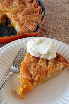 Skillet Peach Cobbler: One Easy, Awesome Dessert - Food Fanatic