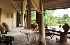 Singita Boulders is a luxury South African safari lodge. Singita Boulders Lodge is located in the game-rich Sabi Sand Game Reserve and offers 12 stylish villas. All Inclusive Resorts, Hotels And Resorts, Best Hotels, Safari Home Decor, Estilo Colonial, Kruger National Park, African Safari, Lodges, South Africa