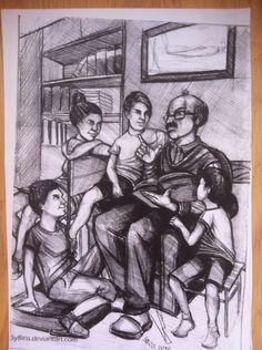 Güzel sanatlara hazırlık imgesel çizimi #gsf #resim #art #karakalem Human Figure Sketches, Figure Sketching, Figure Drawing, Composition Drawing, Pencil Shading, Human Drawing, Pencil Art Drawings, Pastel Drawing, Watercolor Paintings