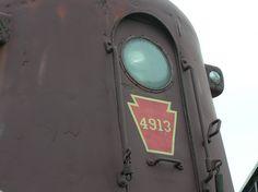 Pennsylvania Railroad GG1--a beautiful classic