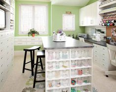 Yes please! This is so what I have in mind for my sewing room!!!!!!