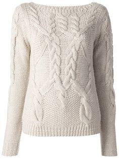 halston heritage chunky wool