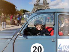 Paris mit der Ente – einfach lässig!