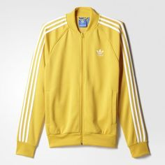 Find your adidas Men - Clothing at adidas. All styles and colours available in the official adidas online store. Sporty Outfits, Cute Outfits, Yellow Adidas, Adidas Shoes Women, Adidas Fashion, Adidas Outfit, Adidas Superstar, Swagg, Adidas Jacket