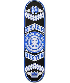 This is my favourite Nyjah Huston Pro model deck.
