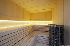 KAAMOS Design sauna made by GLOW, eigen huismerk van Beauty Look Kortrijk, volledig à la carte naar uw wens.