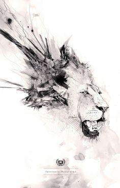 Lion by Nina Maltese