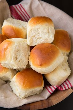 Where have these rolls been all my life?? Seriously I've been waiting around hours for dough to rise when all along I could have had these rolls that can b