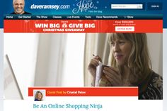 How to Be an Online Shopping Ninja (my guest post at DaveRamsey.com!) - Money Saving Mom®