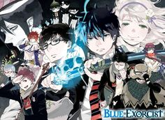 In case anybody would like the colour pages from chapter 80 of Blue Exorcist together without any watermarks.