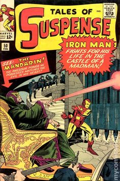 Tales of Suspense # 50 by Jack Kirby & George Roussos