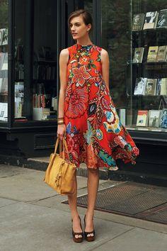 Larkhill Swing Dress - anthropologie