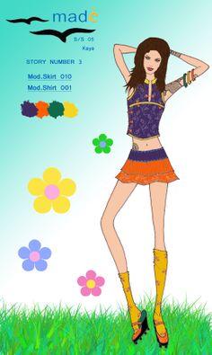 Story 3 mod shirt 001+skirt 010