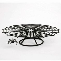 - Spider Web Cake Stand - $25 LAH LOVE!!  Can't get over the spider hanging off - so fun!!