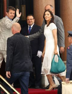 Arrival in Monarco for the wedding of Prince Albert, July 2011