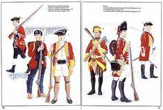 18th century british soldier uniform - Google Search