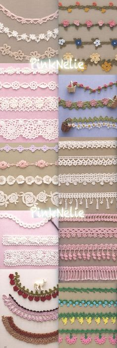 100 LACEWORK Edging Braid Japanese Craft Book by PinkNelie on Etsy