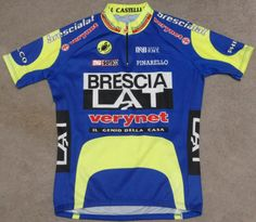 Brescia LAT Pinarello Castelli Vintage High Quality Cycling Jersey L | eBay