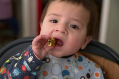 15 Finger Foods for Your Baby or Toddler to Move Past Purees via Brit + Co.