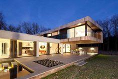 Vila projetada em Heesch por Hilberink Bosch Arquitetos