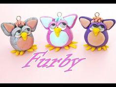 Furby Charm ( Polymer Clay) by PolymerClayMichelle