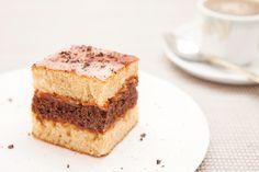 Napolitain� � la confiture de lait {Cake Neapolitan� with dulce de leche}