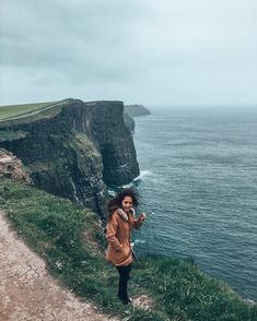 Cliffs of Moher, Cliffs of Insanity, County Clare, Shannon, Ireland | Travel & Style, Adventure, Hiking, Outdoors, Princess Bride. Instagram Photograph by @finding.jules