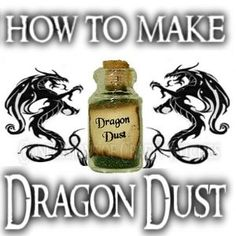 Guide to Magical Paths : How to make Dragon Dust