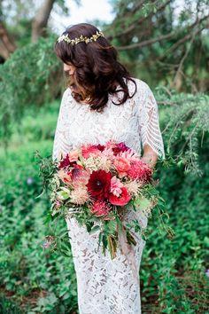 Photography: Elisabeth Arin Photography - http://www.stylemepretty.com/portfolio/elisabeth-arin-photography   Read More on SMP: http://www.stylemepretty.com/california-weddings/2015/06/06/colorful-boho-wedding-inspiration-for-the-world-traveler/