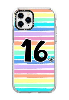 CASETiFY iPhone 11 Pro Case - Birthday 18 flower colorful rainbow stripes by Blue Paper Garden Iphone 11 Pro Case, Iphone Cases, 16th Birthday Gifts For Girls, 2015 Ipad, Apple Watch Models, Apple Watch Series 2, Facebook Photos, Tech Accessories