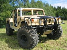 1999 H1 HumVee. Totally eradicates the need for a new truck with a lift kit.