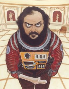 Stanley Kubrick by Katsuhiro Otomo