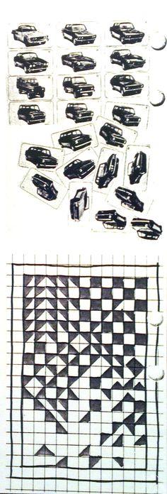 Rytmi - Escher (taustaa).