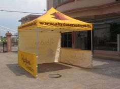 free design heat transfer printing pop up tent ,cheap outdoor canopy with side wall 1