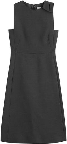 Valentino Wool-Silk Dress Gr. 38