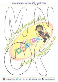 Aqui les dejo este tipo de letra muy lindo que por cierto tiene mi apellido, espero la disfruten y sea de su agrado, les agradecería compart... Font Art, Bubble Letters, Diy And Crafts, Kids Rugs, Symbols, Baby Shower, Handmade, Ideas Para, Face Towel