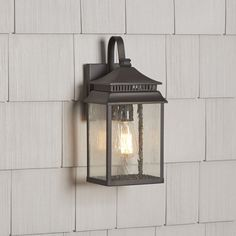 These cohesive lights streamline your backyard design while providing welcome illumination for an evening garden stroll or post-patio party cleanup. Outdoor Lighting Landscape, Outdoor Barn Lighting, Garage Lighting, Outdoor Ceiling Fans, Outdoor Sconces, Outdoor Light Fixtures, Outdoor Wall Lantern, Porch Lighting, Exterior Lighting