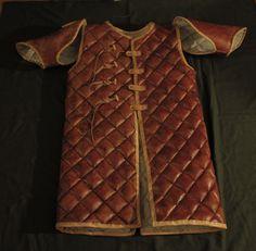 gambesón de cuero para Viking. por Zbranek