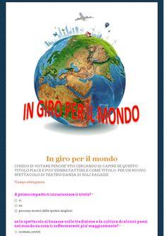 in giro per il mondo sondaggio pubblico  1E Alberghiero - SONDAGGIO PUBBLICO - Community - Google+