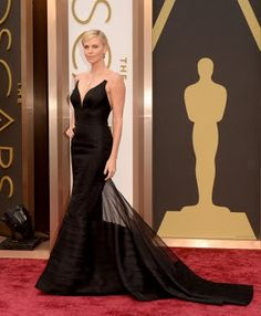 Charlize Theron wears Dior at Oscar 2014