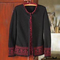 Peruvian City and Sea Cardigan Sweater| National Geographic Store
