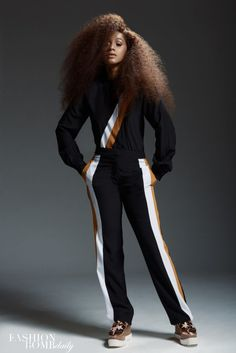 This Fashion Bomb Daily Cardi B Photoshoot Was Everything - Black Hair Information B Fashion, Fashion Outfits, Fashion Tips, Fashion Lookbook, Daily Fashion, Baddie Outfits For School, Selena, Cardi B Photos, Pelo Afro