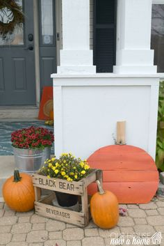 Decorating for Halloween can be so simple! These tips and examples are perfect for the busy family who still want to celebrate the holiday. Lost of kid friendly options, simple crafts and DIY projects fill this home with just the right touch of spooky!