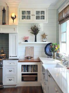 white-kitchen-Susan Serra - most durable kitchen cabinet finish