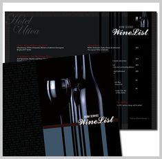 wine menu design 14