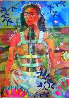 Bastelmania: Frida Kahlo